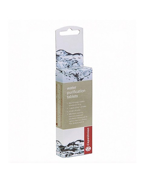 Cape Union Water Purifying Tablets -  assorted