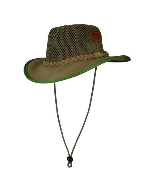 Cape Union Malawi Breezy Mesh Canvas Hat -  khaki