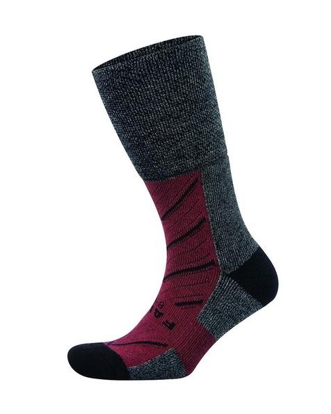 Falke Unisex Drynamix Hiker Socks -  charcoal-burgundy