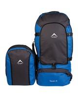 K-Way Transit 75 Travel Pack -  blue-grey