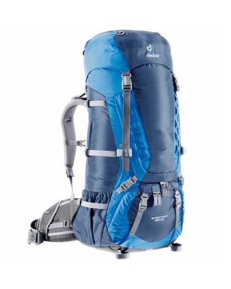 Deuter AirContact 65+10 Travel Pack -  blue