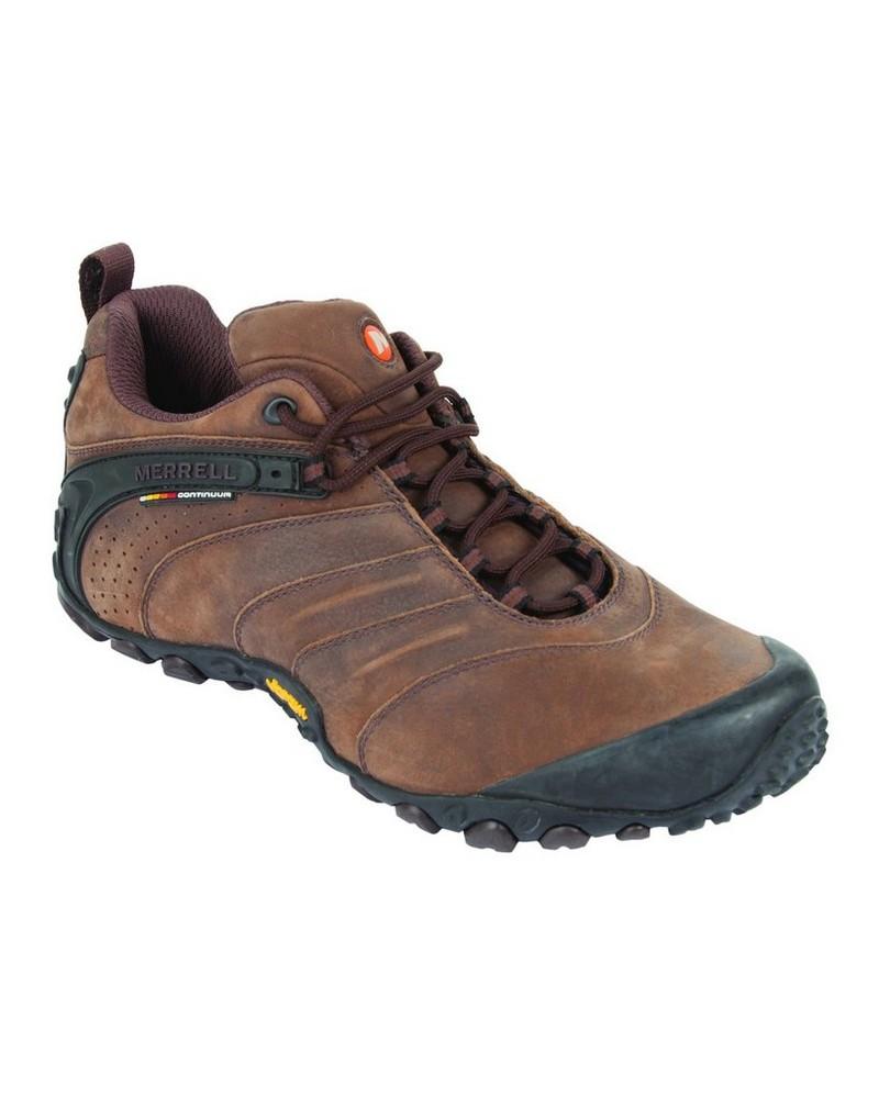 Merrell Chameleon 2 Leather Shoe Mens -  chocolate
