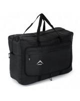 K-Way Overflow Travel Bag -  black