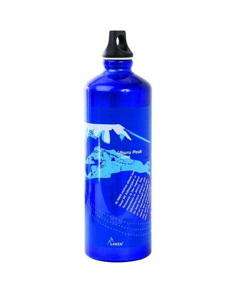 Laken 1L Kilimanjaro Futura Bottle  -  blue