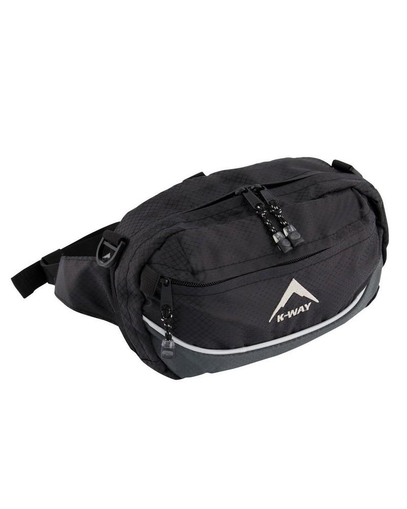 K-Way Sprint 3 Bum Bag -  charcoal