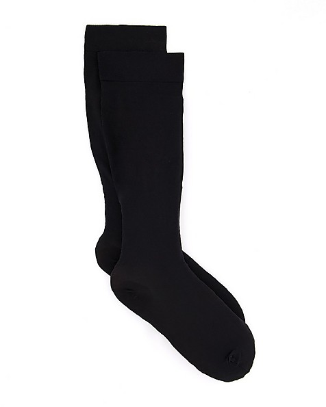Go Travel Flight Socks -  black