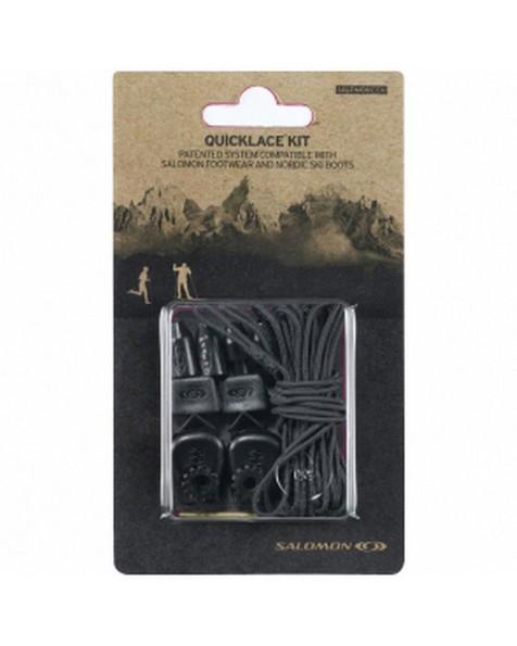 Salomon Quick Lace -  black