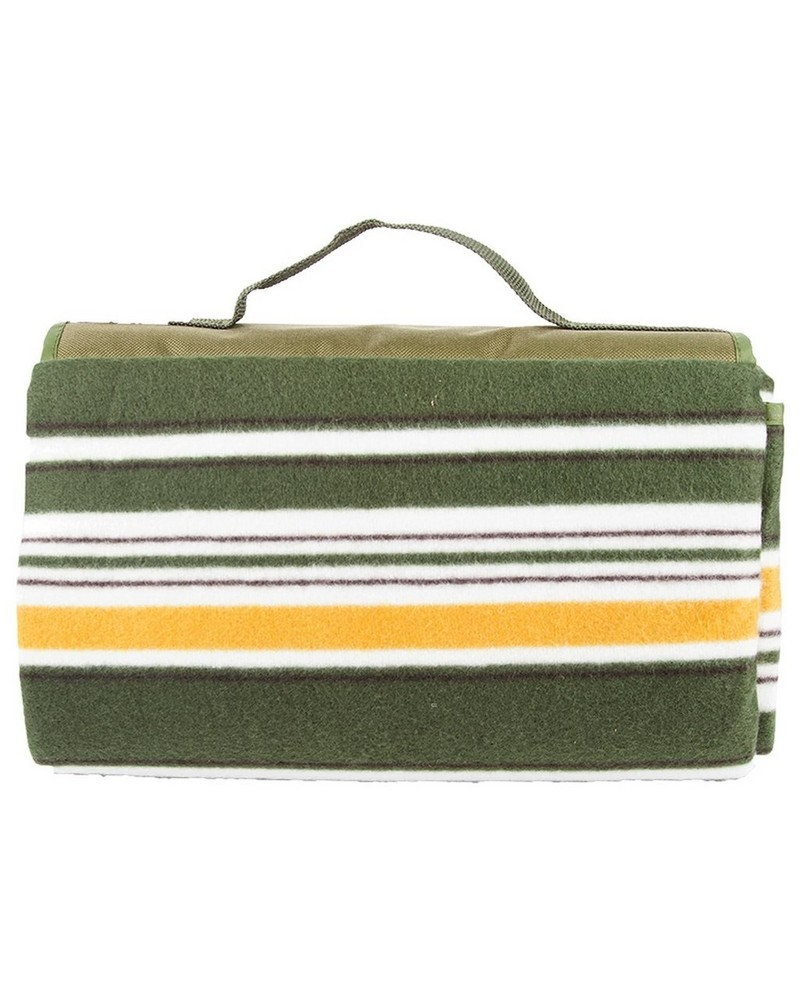 Cape Union Picnic Roll Up Rug -  green