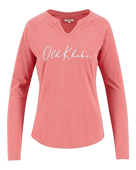 Old Khaki Women's Arlowe Call-Out Top -  pink