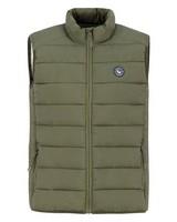Old Khaki Men's Calder Sleeveless Puffer Jacket -  olive