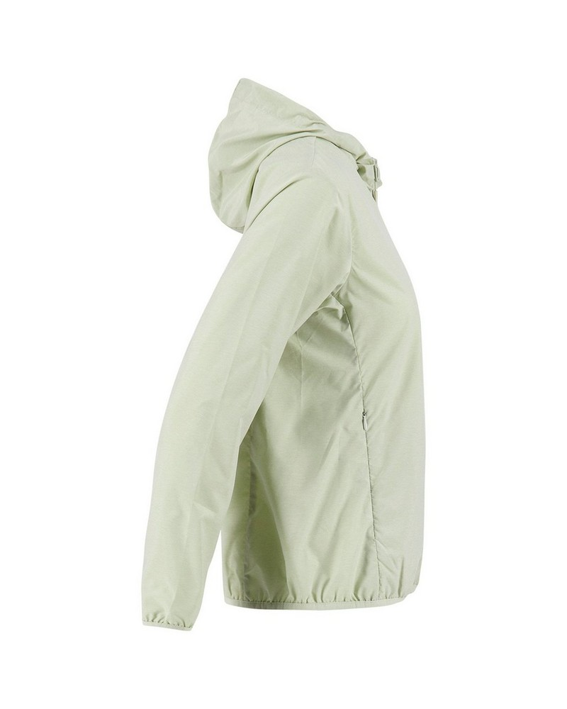 Aster Printed Travel Jacket -  light-green