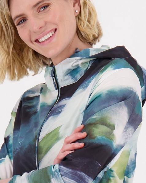 Aster Printed Travel Jacket -  darkgreen