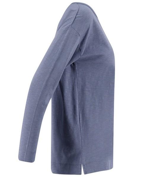 Rare Earth Women's Porter Blue Long-Sleeve Top -  midblue