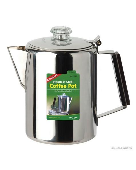Coghlans 9-Cup S-Steel Coffee Pot -  nocolour