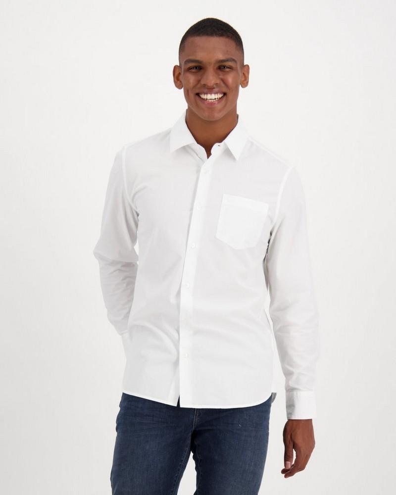 Old Khaki Men's Andy 3 Regular Fit Shirt -  white