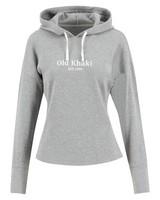 Old Khaki Women's Dixie Waffled Hooded Top -  grey
