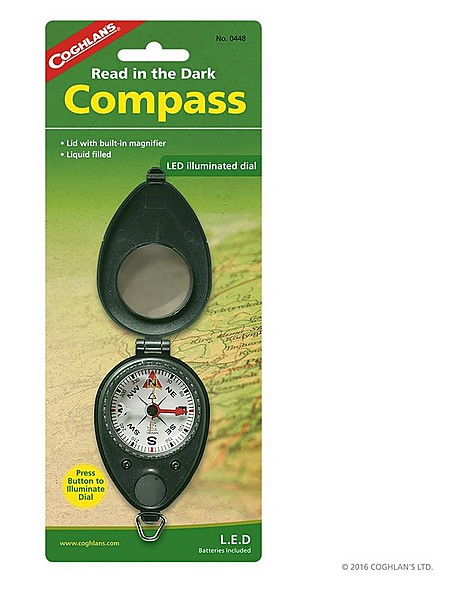 Coghlans Compass With Led -  nocolour