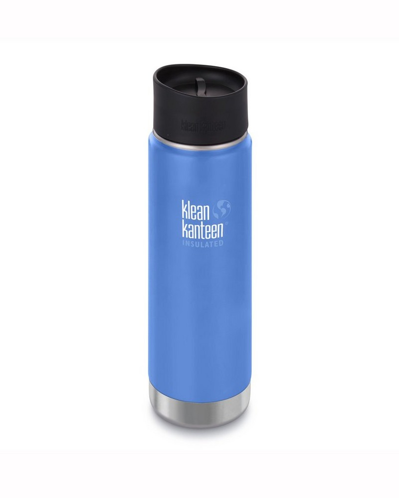 Klean Kanteen Wide Vacuum Insulated Bottle 20oz -  blue
