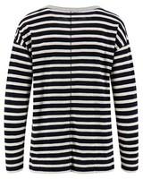 Rare Earth Women's Porter Stripe Long-Sleeve Top -  navy