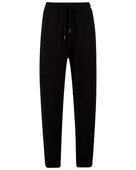 JAZZ BLACK SWEAT PANT -  black