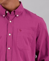 Old Khaki Men's Cesar Regular Fit Shirt -  berry