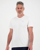 K-Way Elements Men's Short Sleeve Tee -  white