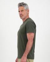 K-Way Elements Men's Short Sleeve Tee -  olive