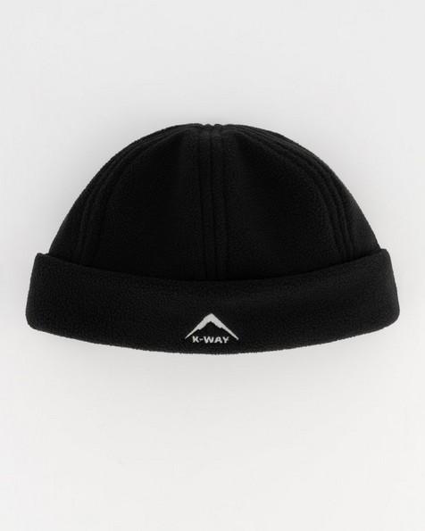 K-Way Eco Fleece Beanie -  black