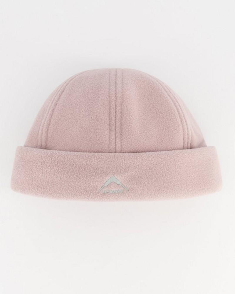 K-Way Men's Eco Fleece Beanie -  dusty-pink