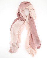 Orchid Ombre Scarf -  lightpink