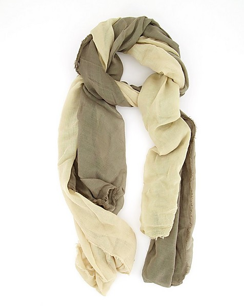 Orchid Ombre Scarf -  olive