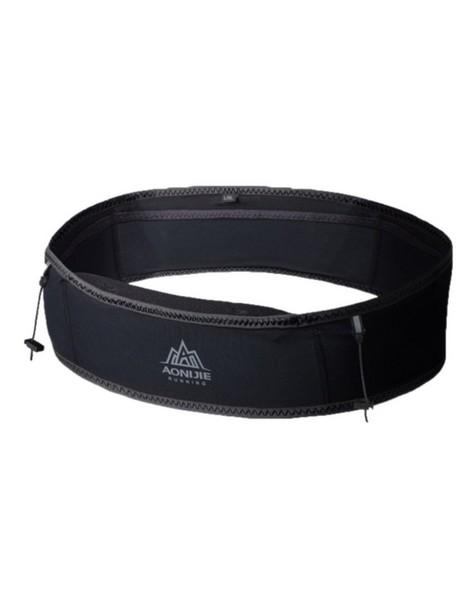 Aonijie Elasticated Waist Belt -  black