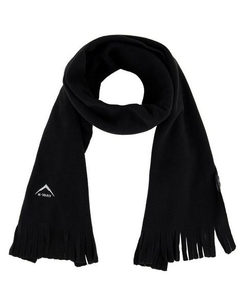 K-Way Eco Fleece Scarf -  black