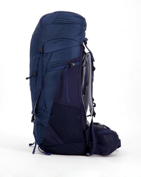 Deuter Aircontact 65 + 10 Trekking Backpack  -  black