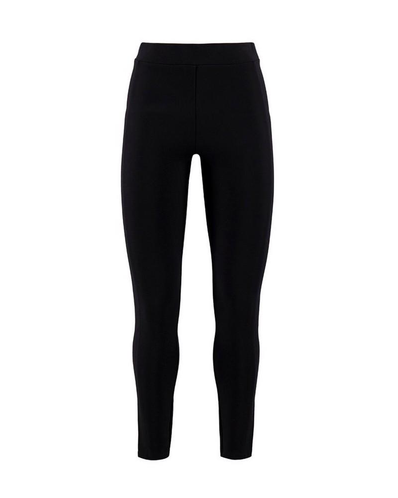 Rare Earth Women's Pearl Grey Ponti Pants -  dark-charcoal