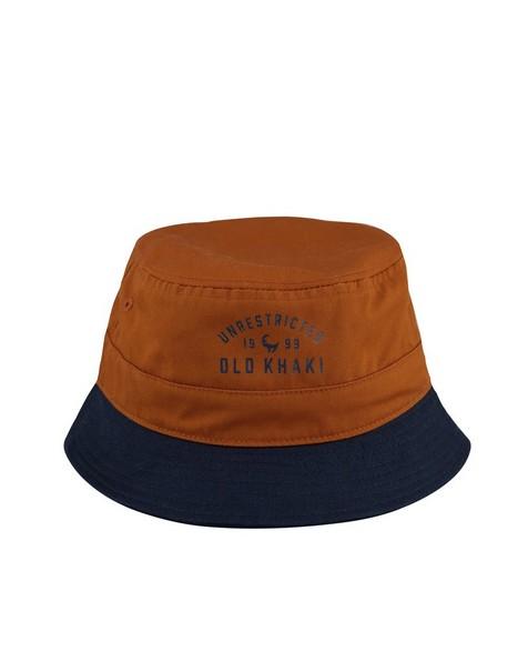 Old Khaki Men's Warren Colourblock Bucket Hat -  navy