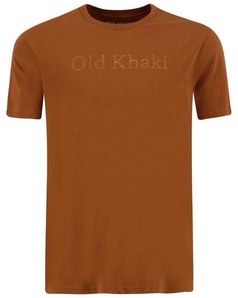 Old Khaki Men's Men's Kason Relaxed Tee -  rust