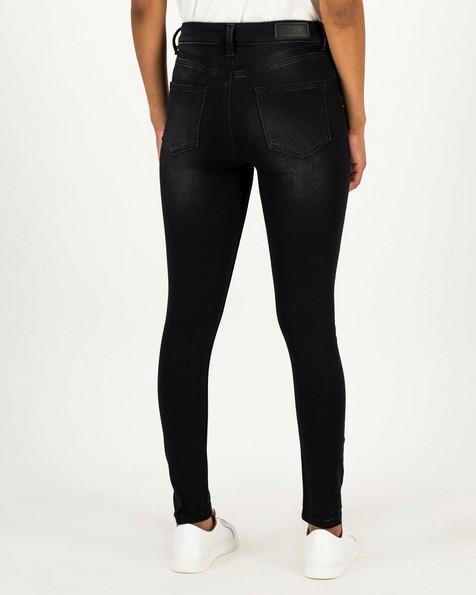 Old Khaki Women's Poppi Black Skinny Denim -  black