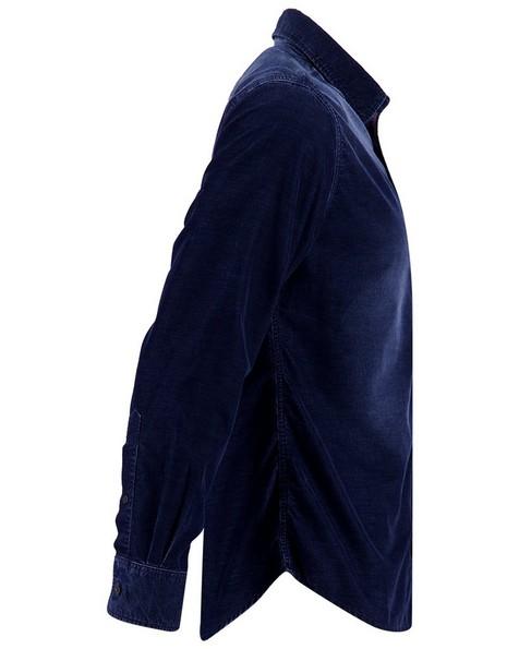 C Landon Slim Shirt Mens -  indigo