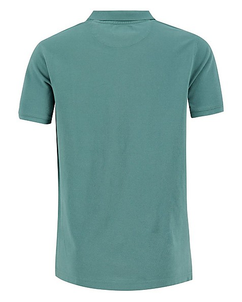 Old Khaki Men's Hilton Relaxed Fit Golfer Shirt -  sage