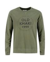 Old Khaki Men's Henry Crew Sweat Top -  olive