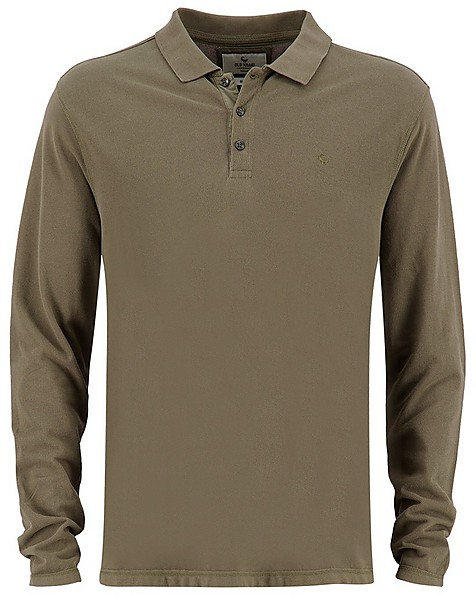 Old Khaki Men's Willis Relaxed Fit Golfer Top -  olive