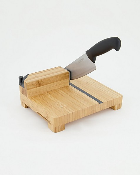 Kaliber Bamboo Biltong Slicer -  nocolour