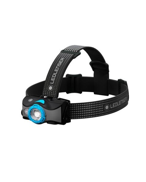 LED Lenser MH7 Rechargeable Headlamp  -  blue