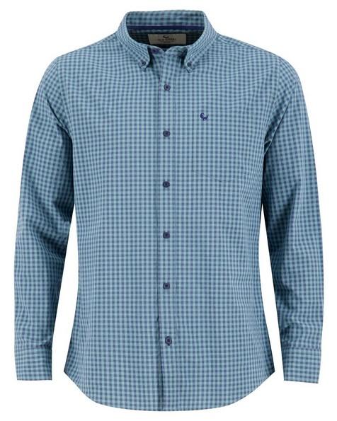 Old Khaki Men's Matt Regular Fit Shirt -  sage