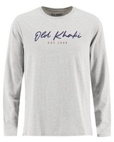 Old Khaki Men's Zane Long-Sleeve Relaxed Fit Top -  grey