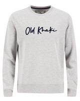 Old Khaki Men's Hollis Crew Sweat Top -  grey