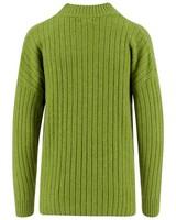 Vera Pullon Green Sweater -  green