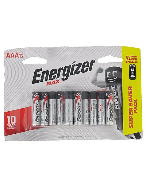 Energizer Max AAA - 12 Pack Battery -  nocolour