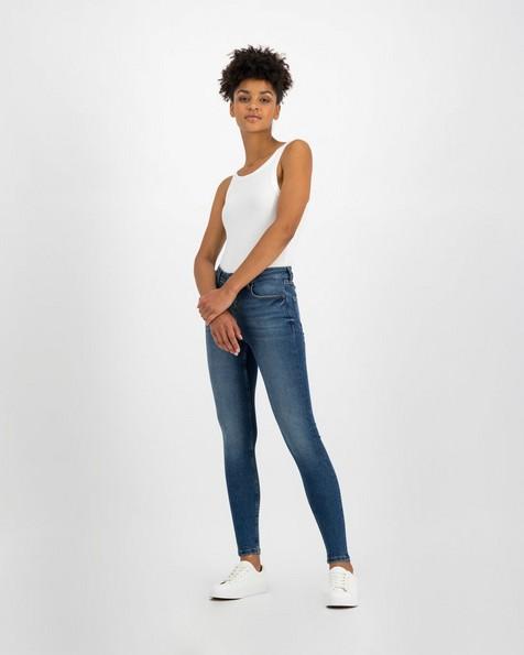 Old Khaki Women's Poppi Light Wash Skinny Denim -  blue